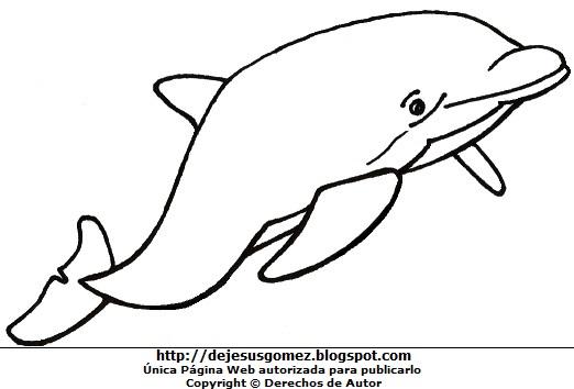 Dibujo Delfin Para Colorear E Imprimir: DIBUJOS FOTOS ACROSTICO Y MAS: DIBUJOS DE DELFINES PARA