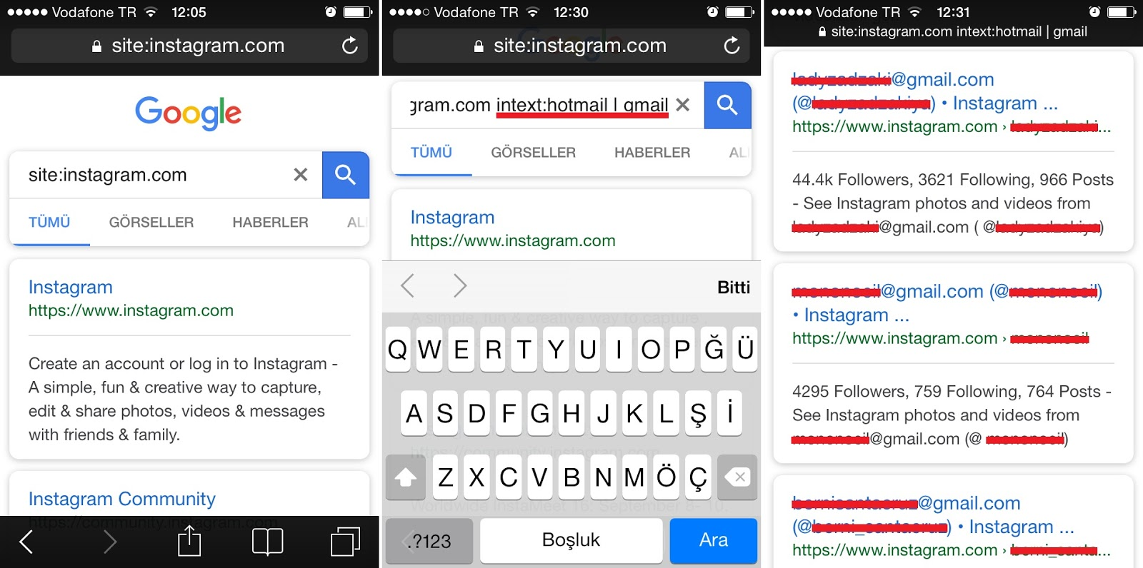 Instagram Mail Adresini Bulma | E-posta Öğrenme!