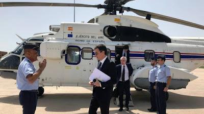 helicoptero, super puma, sánchez, cuatro días