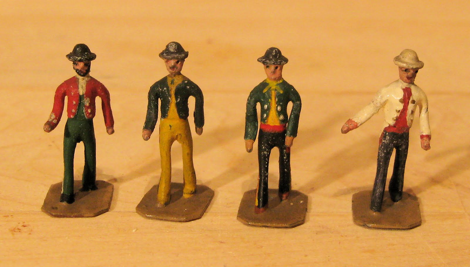 Vintage Wargaming Groves Benoy Spanish Gentlemen