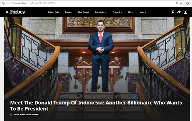 trump indonesia