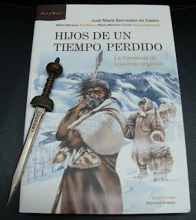 Portada del libro Hijos de un tiempo perdido, de José María Bermúdez de Castro et col