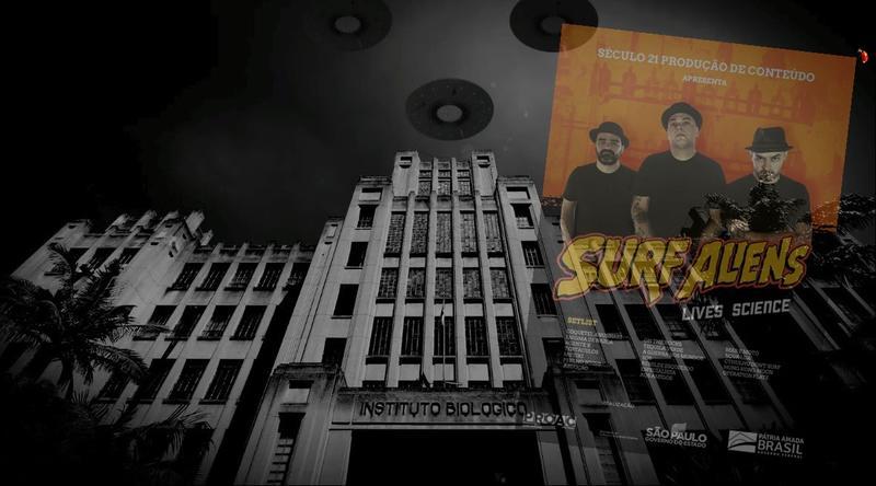 Ficção científica, surf music instrumental e punk rock são os principais elementos do projeto Live Science, uma inédita produção da Produtora de Conteúdo Século 21 contendo shows em estúdio e entrevistas com a banda Surf Aliens, que tem Christian Targa na guitarra, o Gordo, nome bastante conhecido no rock independente brasileiro (O Preço, Blind Pigs).