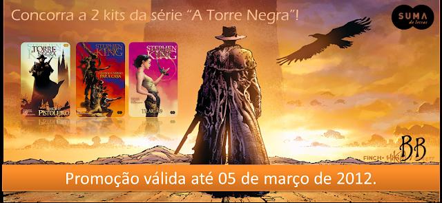"""Promo: 2 Kits das HQ's da serie """"A Torre Negra"""" de de Stephen King. 17"""