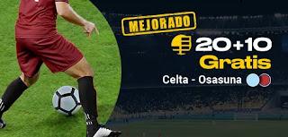 bwin promo Celta vs Osasuna 5 enero 2020