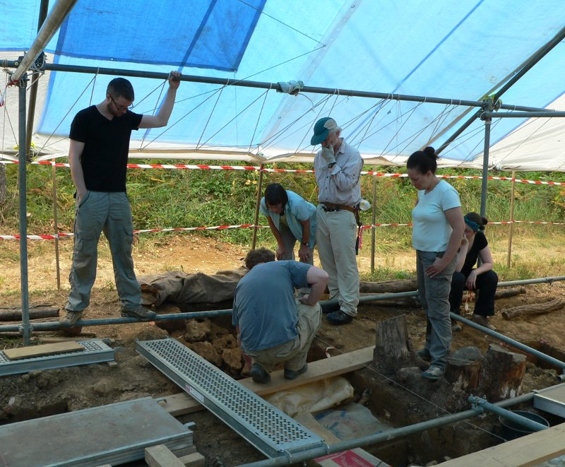 Peyre blanque Archaeological Project Staff (2015)