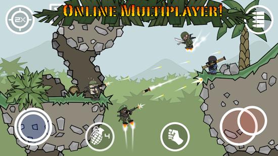 3) لعبة Mini Militia - Doodle Army 2