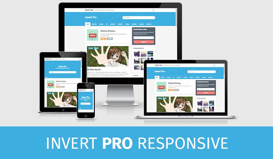 Invert Pro 2 Premium Personal Blogger Template
