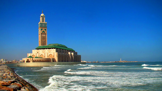 Изображение Великой мечети Хасана II