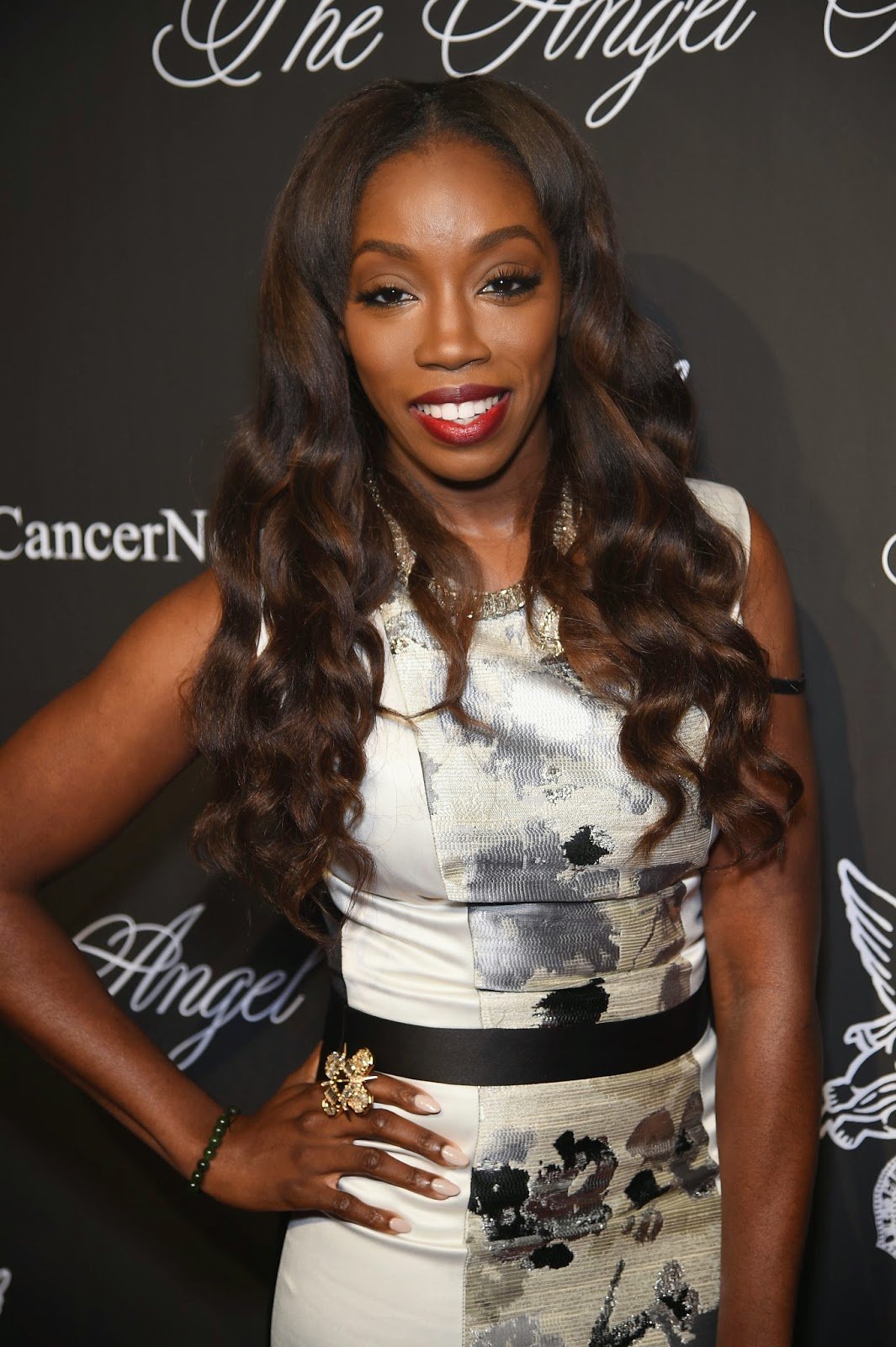 Estelle attends Angel Ball 2014