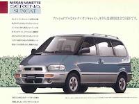 Perbedaan Nissan Serena dari C23 C24 C25 C26 C27