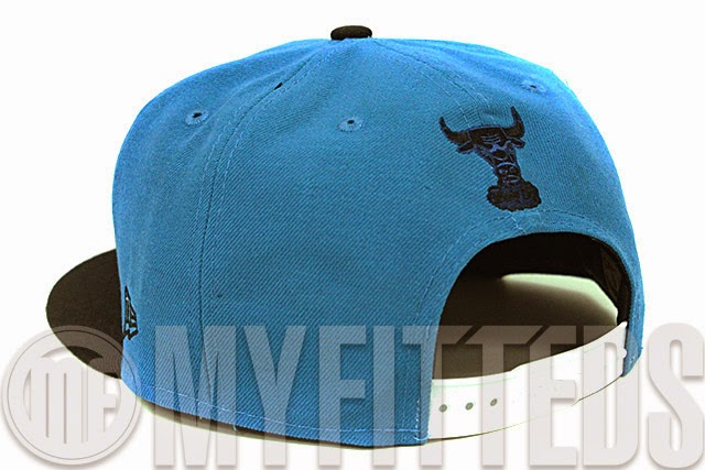 Hit the streets fashionably with this new Chicago Bulls New Era Snapback  presented in midnight force and jet black. The cap is made to match the Air  Jordan ... 5fd25ff9a186