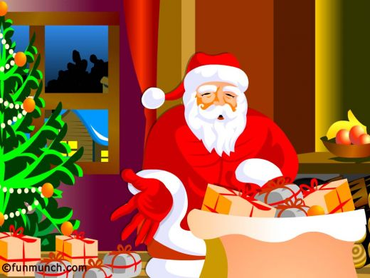 Collection of Christmas Santa Claus wallpapers