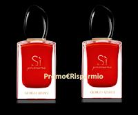 Logo Gioca e vinci gratis 50 fragranze Armani SI Passione