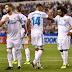 Todos os jogadores do Real Madrid participaram do gol marcado por Casemiro, contra o La Coruña