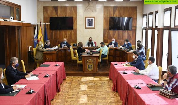 Cabildo, Gobierno y comunidades de regantes abordan las obras de regadío en La Palma del Plan de Recuperación estatal
