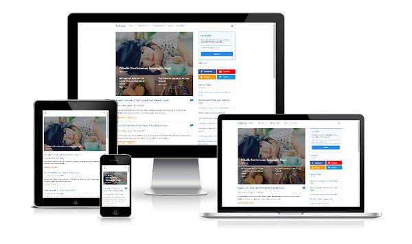 Katana Pro Premium Blogger Template