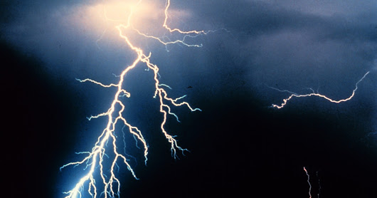 does Lightning never strikes place twice ?
