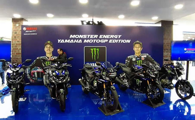 Yamaha Livery MotoGP Monster Energy