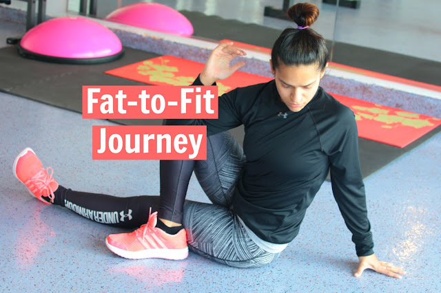 Fat to Fit Journey, Tanvii.com