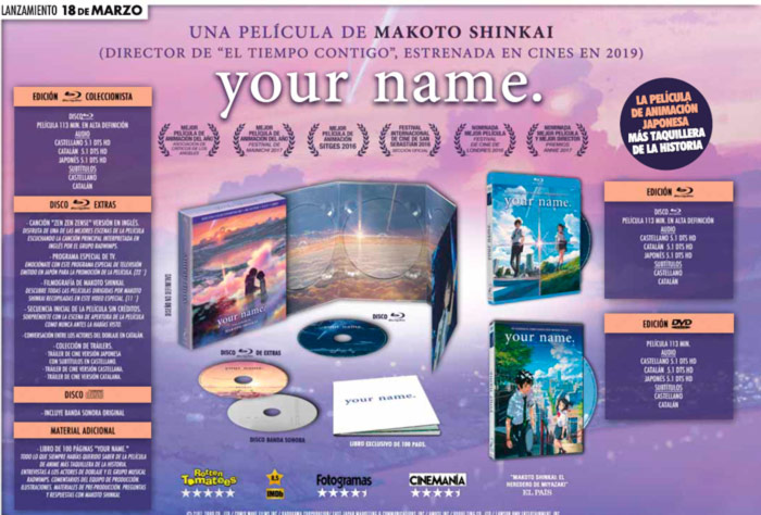 Your Name - Selecta Visión