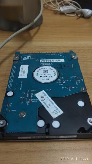 Memperbaiki Hardisc Yang Rusak Menggunakan CHKDSK/R/F/D Di CMD