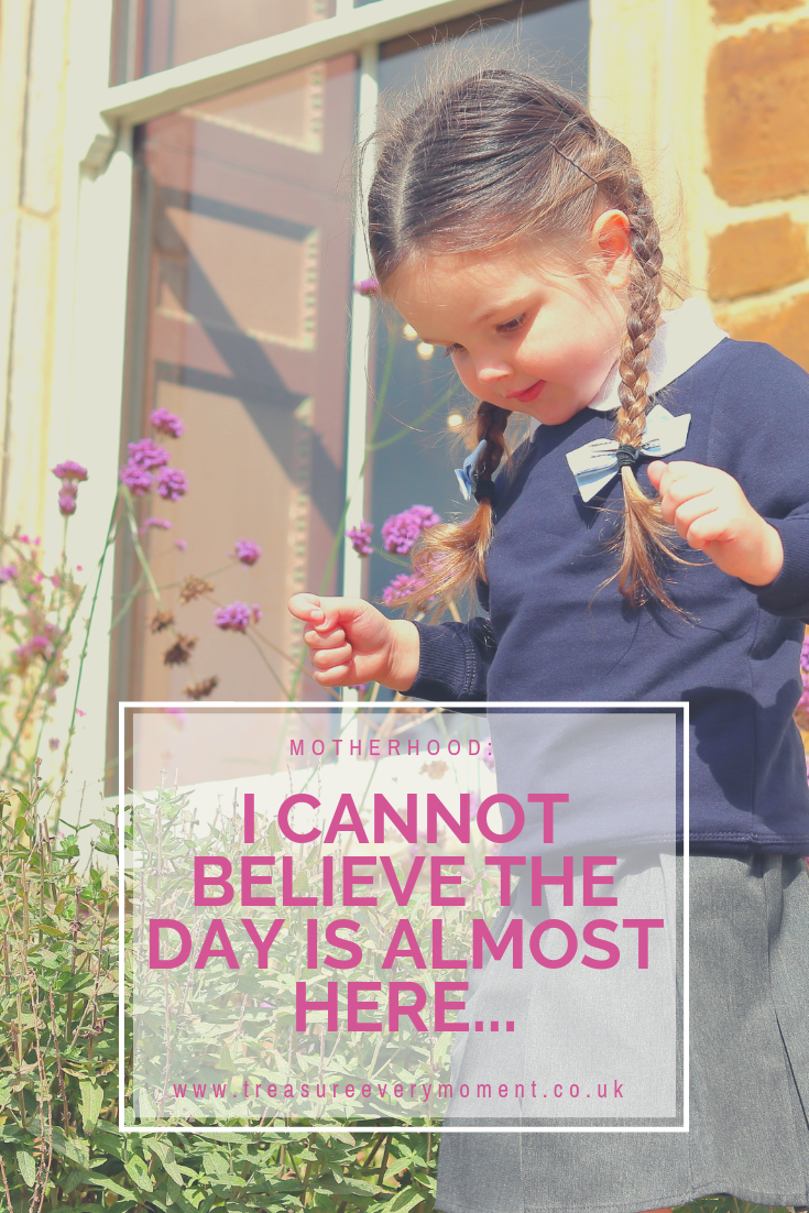 MOTHERHOOD: Dear Isabella, I cannot believe the day is almost here...