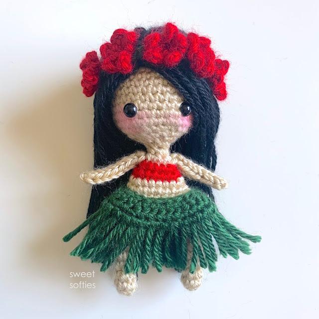 Amigurumi Popcorn Doll Free Crochet Patterns - Crochet.msa.plus | 640x640