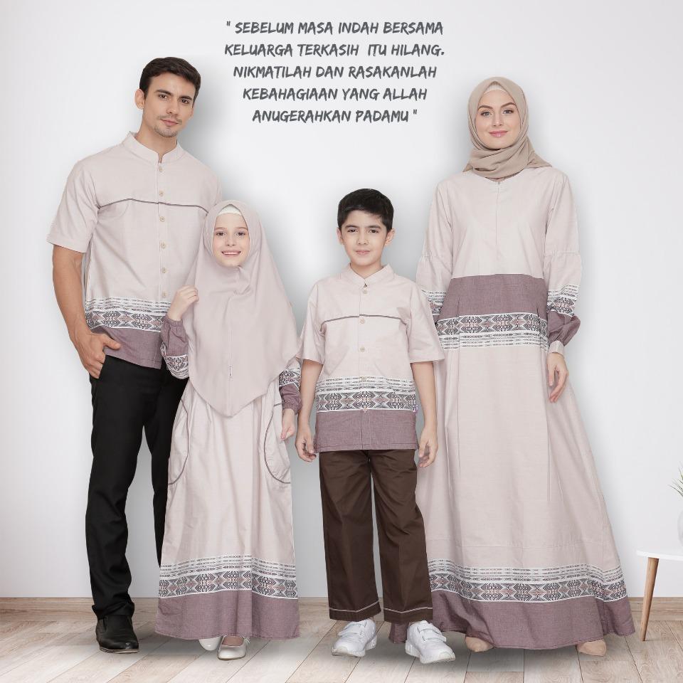 Koleksi Terbaru Baju Keluarga Rauna Sarimbit