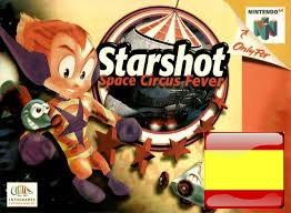 Roms de Nintendo 64 Starshot Space Circus Fever (Español)  ESPAÑOL descarga directa
