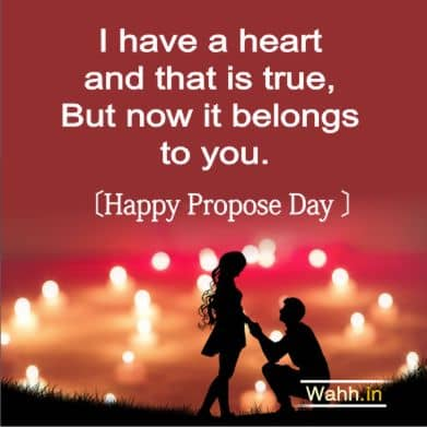 2021 Propose Day Quotes
