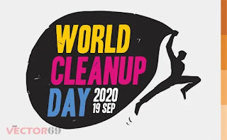 Logo World Cleanup Day (WCD) 2020 - Download Vector File AI (Adobe Illustrator)
