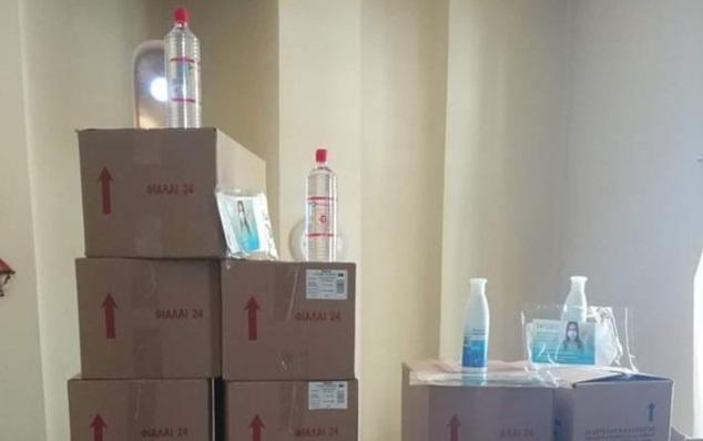 Καθαρισμός, μικροβιοκτονίες και την παροχή υλικών στα σχολεία του Δημου Επιδαύρου
