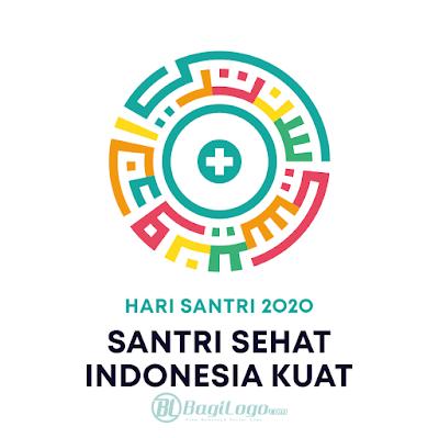 Hari Santri 2020 Logo Vector