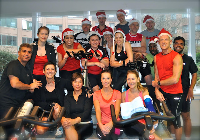 Joao's Christmas Spinning Class @ HealthCity Woluwe