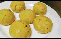 Round shaped Missi roti dough balls