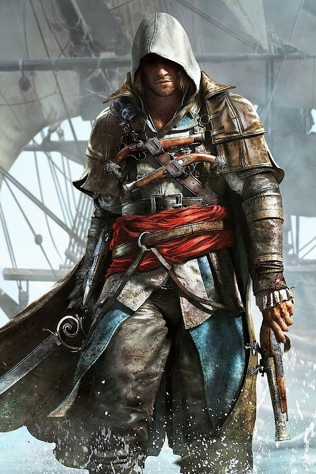 Assassin8217s Creed 4 Black Flag   Galaxy Note HD Wallpaper