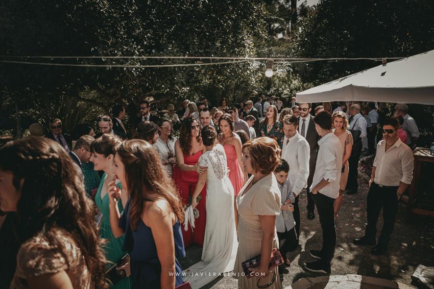 boda en el hort del kalausi la ceremonia