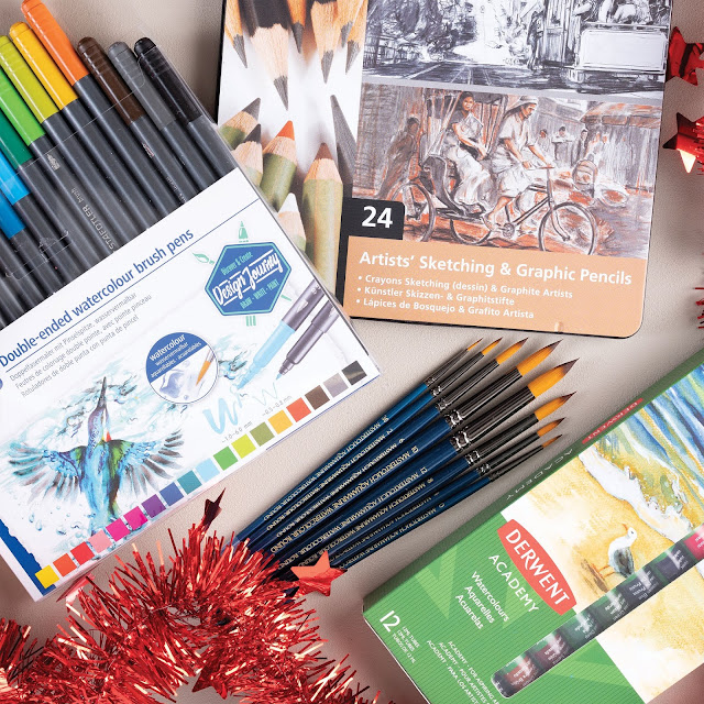 Ad | Christmas Giveaway:  ARTdiscount Student's Art Bundle