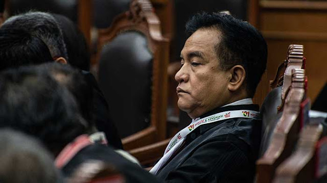 Yusril Akui Kajian Saksi Ahli 02 Bisa Batalkan Kemenangan Jokowi-Maruf