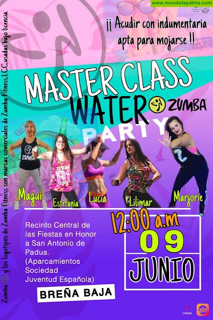 "Master Class ""Zumba WATER Party"""