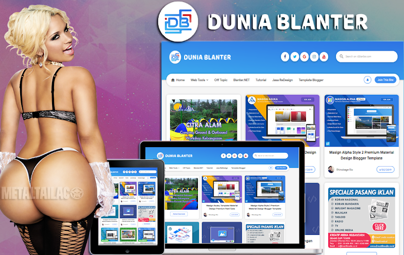 IDBlanter Blogger Template 2019 - Responsive Blogger Template