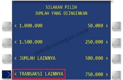 Daftar bjb NET di ATM