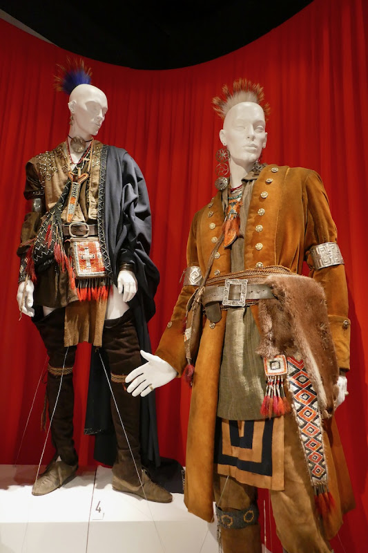 Outlander season 4 Mohawk tribe costumes