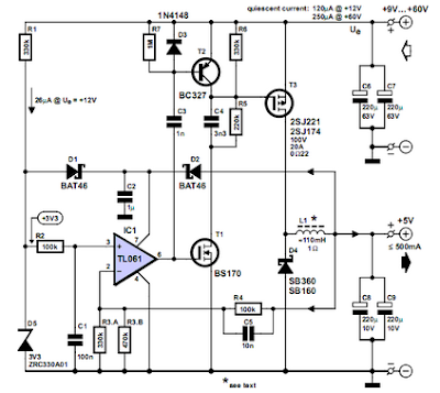 Low Loss Step Down Converter