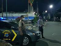 Antisipasi Kerawanan Dini Hari, Polsek Ngampilan Siaga di Simpang Tiga Ngabean