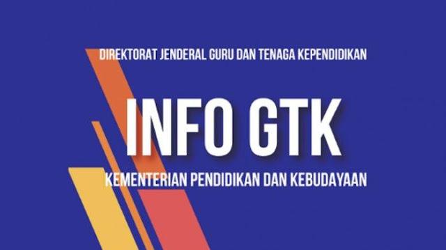 Data Info GTK Belum VALID Priode Januari - Juni 2021, Berikut Solusinya