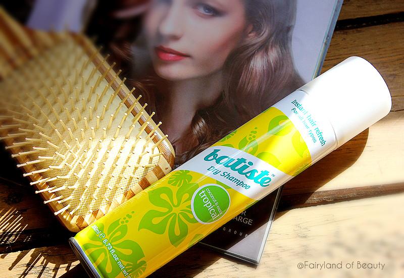 Отзыв: Сухой шампунь для объема и блеска волос Batiste Dry Shampoo Tropical.
