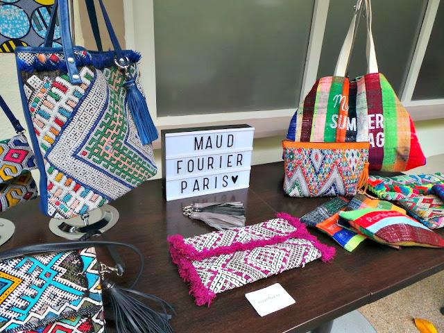 soirée eparisienne estorysummer soirée blogueuses paris Maud Fourier créatrice sacs accessoires mode