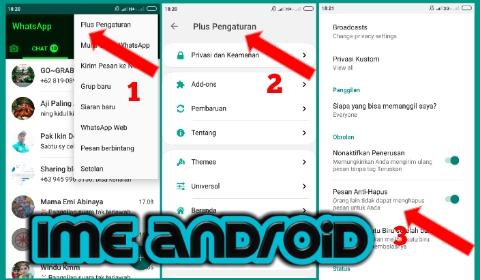 Chat Dan Story Whatsapp Anti Hapus Begini Caranya Ime Android